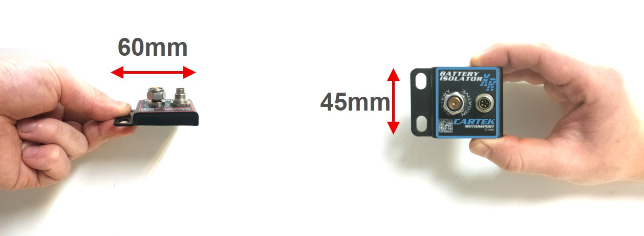 Battery Isolator Switch dimensions
